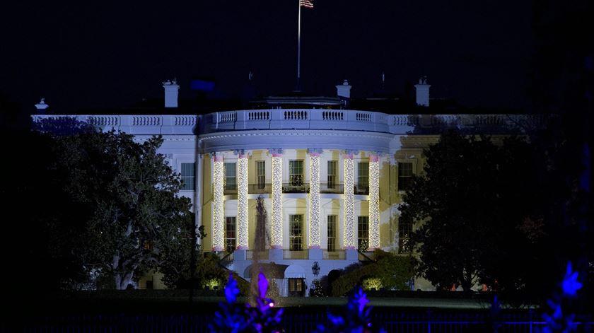 Casa Branca, Washington. Foto: Ron Sachs/EPA