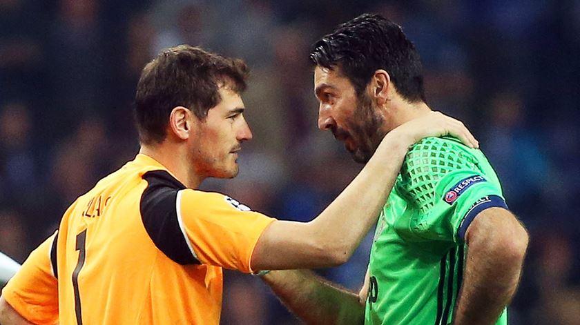 Buffon pode suceder a Casillas. Foto: José Coelho/Lusa