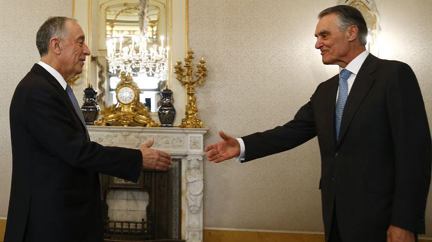 """""""Senhor Presidente eleito, bem-vindo a esta casa que em breve será sua"""""""