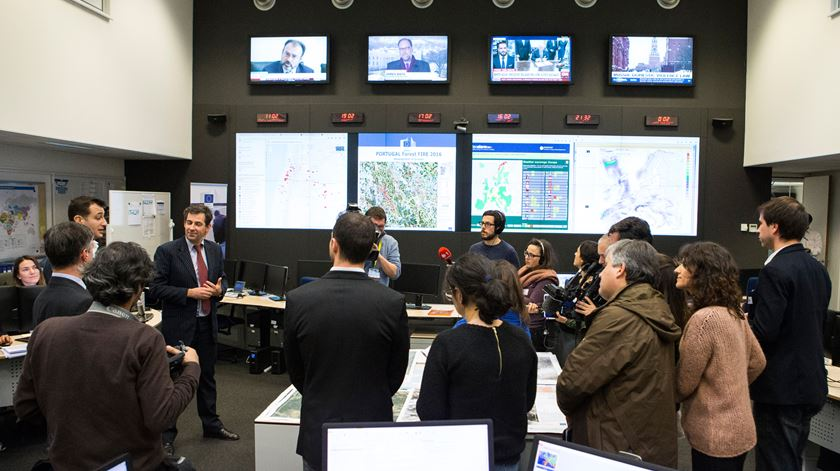 Centro de Resposta de Emergência, Bruxelas. Foto: União Europeia 2017