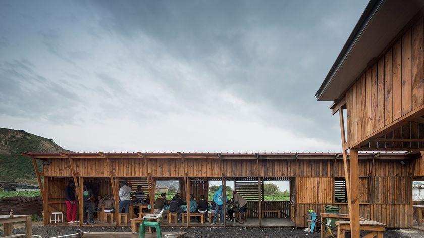 Cozinha Comunitária Terras da Costa, na Costa de Caparica. Foto: Fernando Guerra | FG+SG