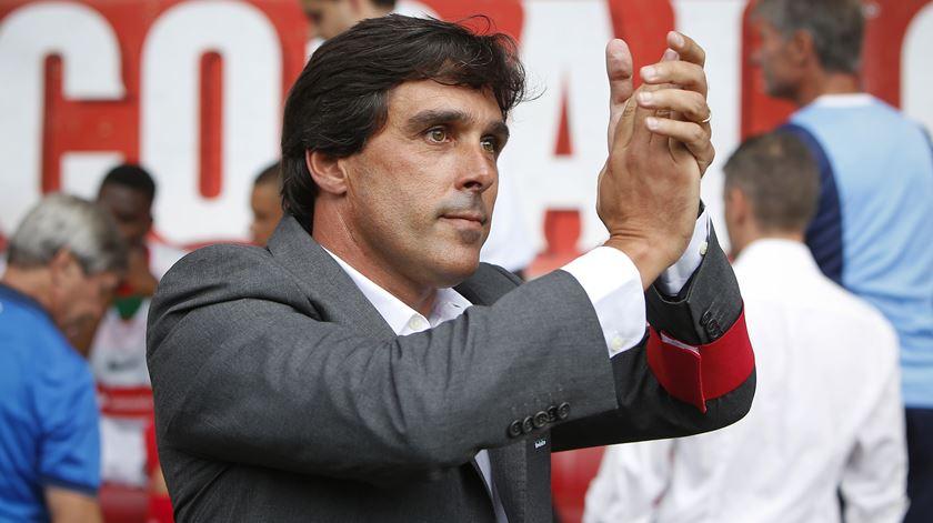 Daniel Ramos foi treinador do Marítimo durante duas temporadas. Foto Gregório Cunha/Lusa