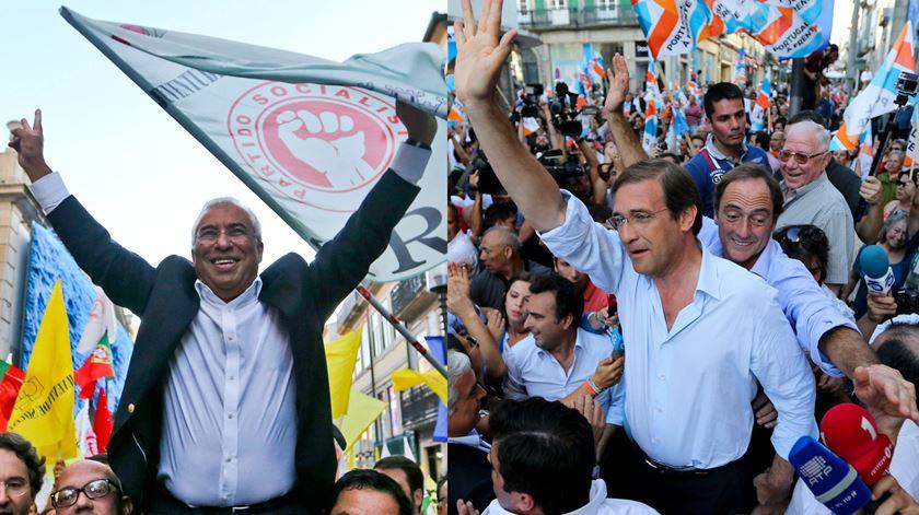 """PS e PAF no Porto. """"Duelo"""" de arruadas em Santa Catarina"""