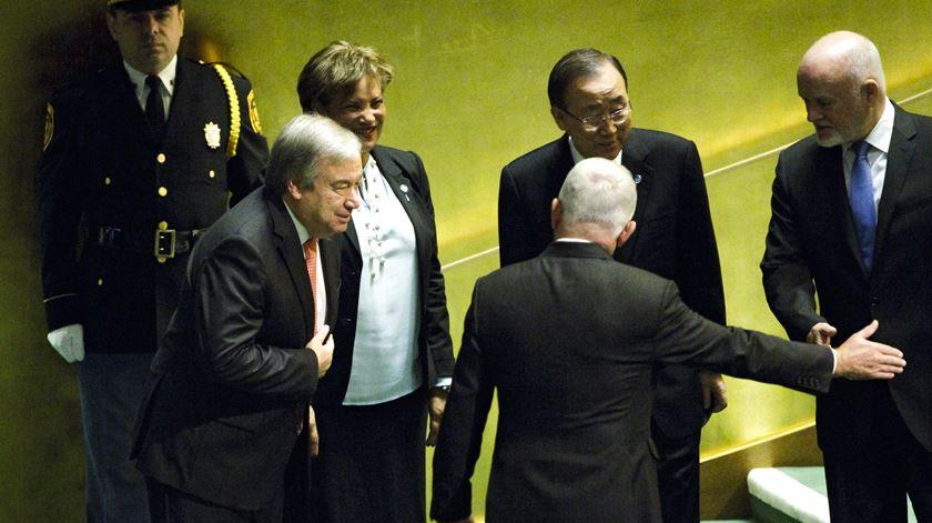 A aclamação de Guterres como secretário-geral da ONU