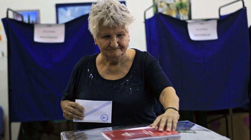 Gregos vão novamente a votos. Foto: Orestis Panagiotou/EPA