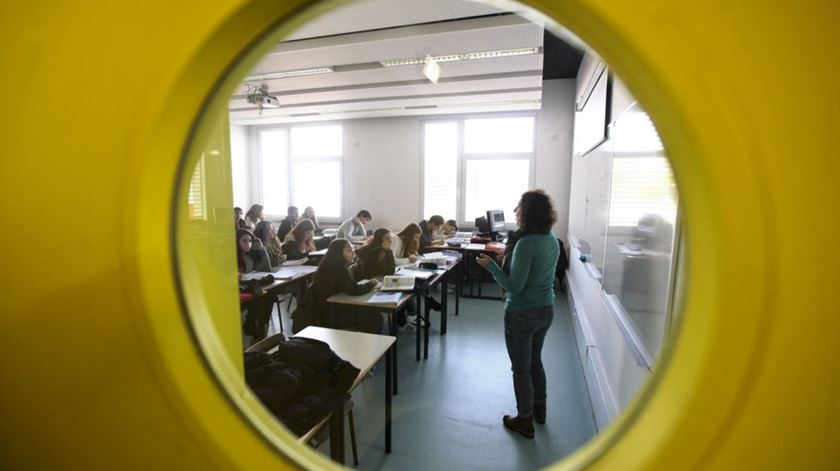Meio milhar de professores integrados nos quadros do Ministério da Educação
