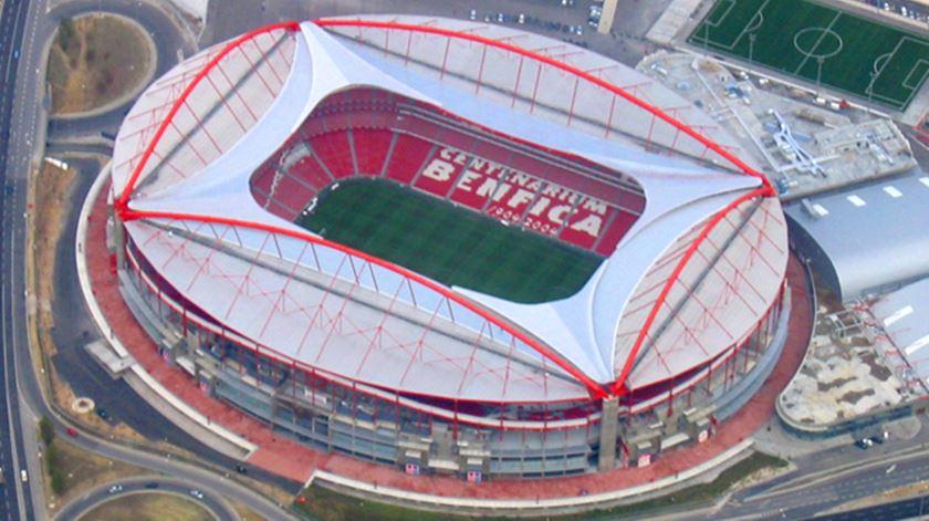 Benfica quer aumentar capacidade do estádio da Luz