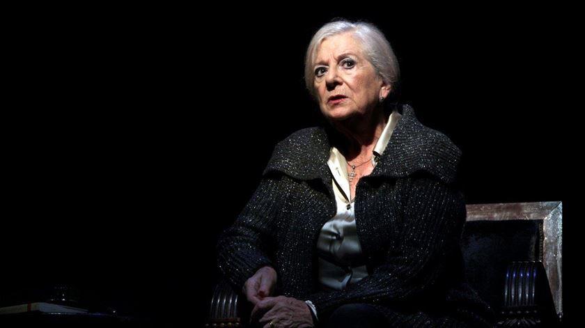 Eunice Muñoz tem saudades de fazer teatro. Foto: Margarida Dias