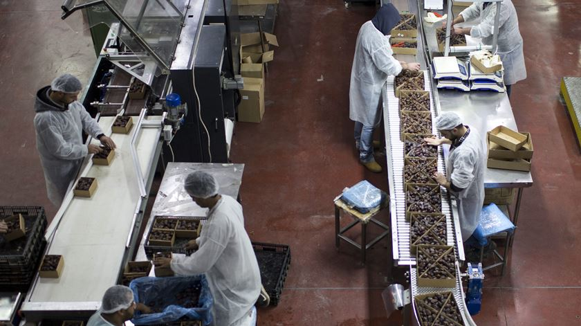 Trabalhadores de primeiro mundo com salários de terceiro. Foto: Estela Silva/Lusa