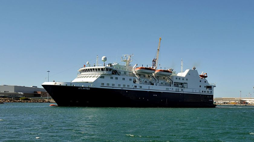 """""""Atlântida"""" foi rejeitado em 2009 pelo Governo dos Açores. Foto: Lusa"""