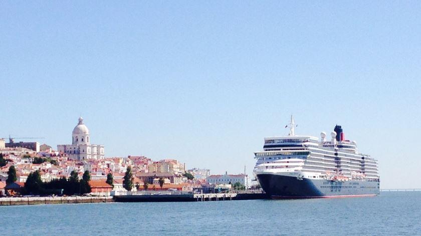 Cruzeiros chegam em grande número a Lisboa. Foto: Ana Carrilho/RR
