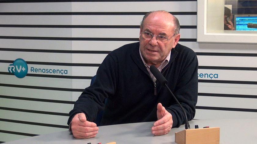 António Simões ouvido pela Renascença. Foto: DR