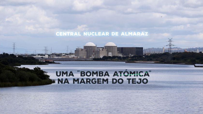 """Central nuclear de Almaraz: uma """"bomba atómica"""" na margem do Tejo"""