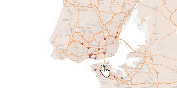 mapa radares lisboa Onde estão os novos radares de velocidade?   Renascença mapa radares lisboa