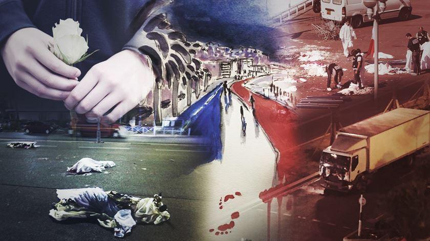 O rasto do terror chegou a Nice