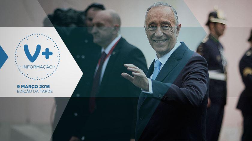 """Marcelo Presidente quer """"unidade nacional"""""""
