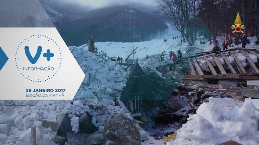 Resgatados últimos corpos de hotel soterrado por avalanche