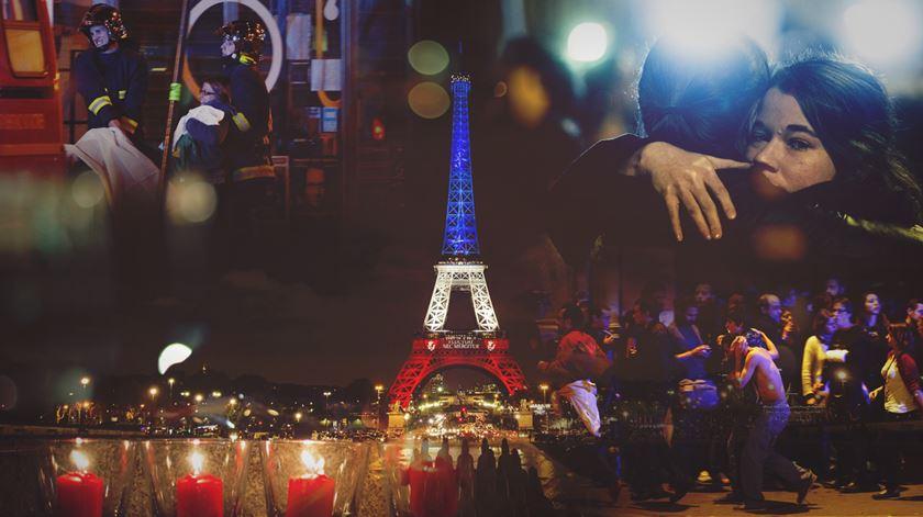 #Paris. Longos dias de terror