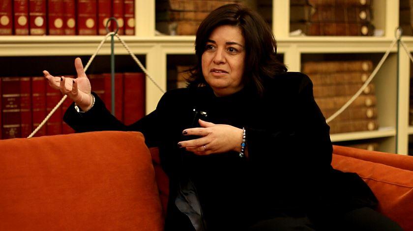 Suzana Faro, directora do Museu dos Transportes e Comunicações do Porto. Foto: RR