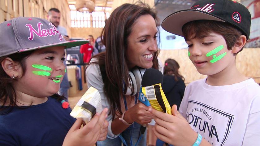 O Rock in Rio trocado por miúdos