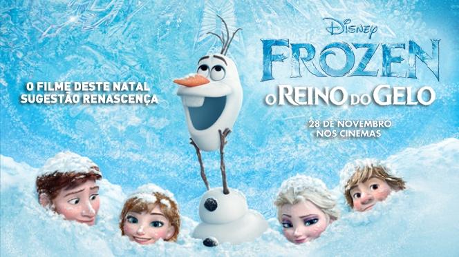 Há previsão de neve e muito gelo no novo filme da Disney