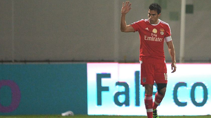 Gaitán gostaria de voltar ao Benfica