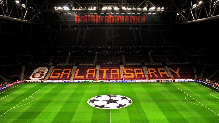 A Turk Telekom Arena é o estádio do Galatasaray. Foto: DR