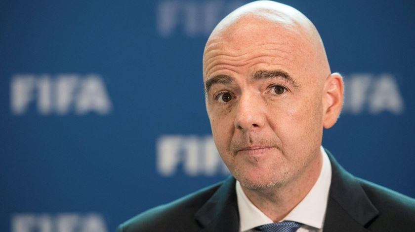 Gianni Infantino é presidente da FIFA desde 2016. Foto: Ennio Leanza/EPA