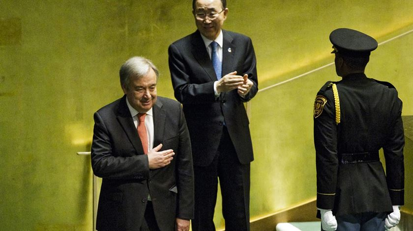 Os elogios dos líderes internacionais a Guterres