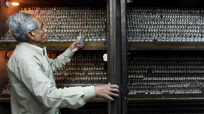 Uma farmácia homeopata na Índia. Foto: Jorge Royan
