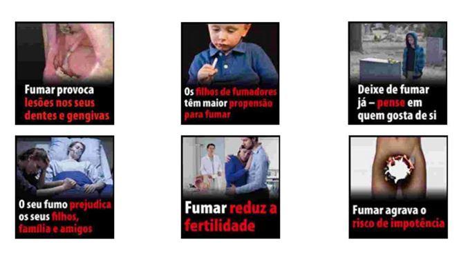 Imagens de caixões nos maços de tabaco para os portugueses deixarem de fumar