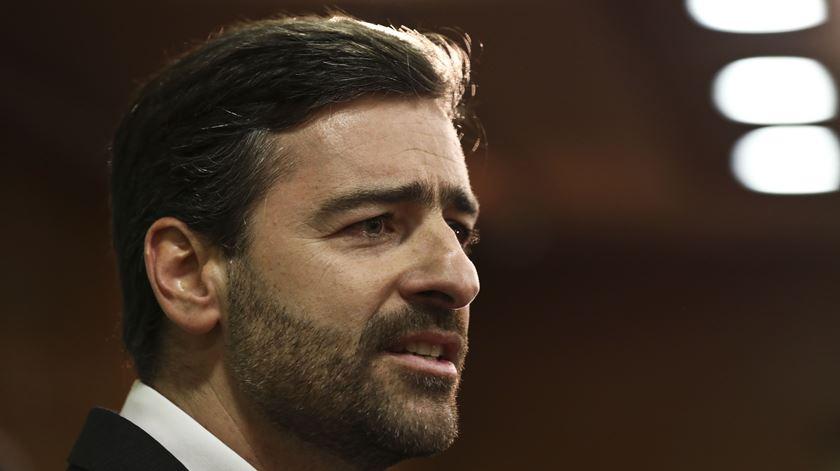 Pedro Madeira Rodrigues conhece oposição na corrida eleitoral do Sporting. Foto: Manuel de Almeida/Lusa