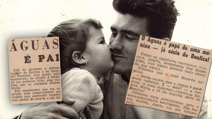"""""""Águas é pai"""", titulava a imprensa da época"""
