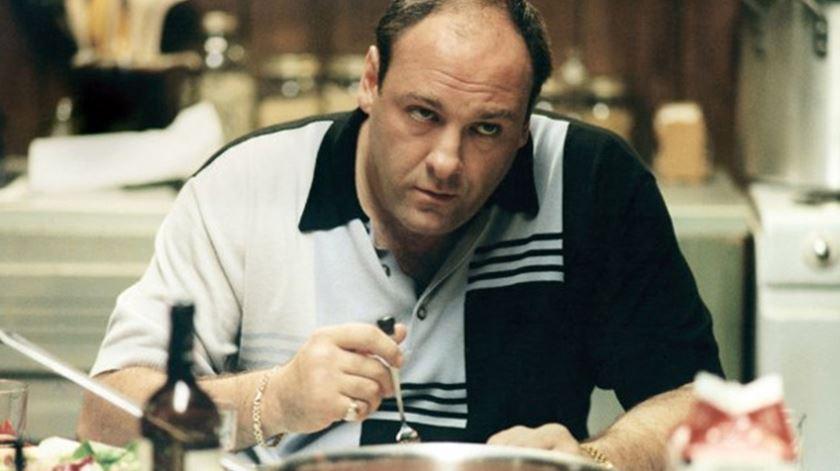 James Gandolfini, estrela da série Sopranos. Foto: DR