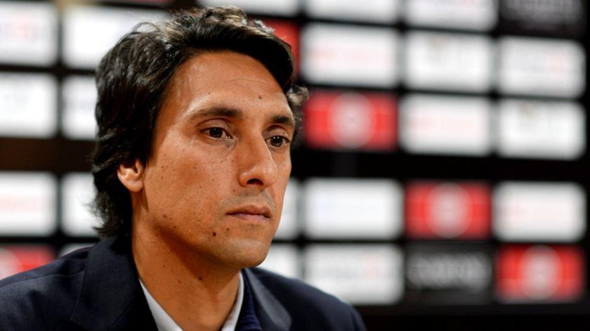 João de Deus é o terceiro treinador do Nacional esta época. Foto: DR