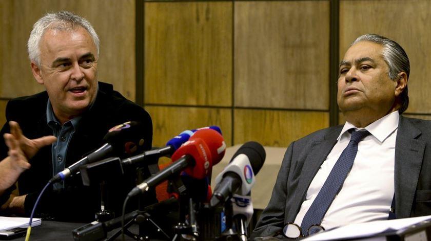 João Araújo e Pedro Delille querem impugnar a decisão e os seus autores. Foto: João Relvas/Lusa