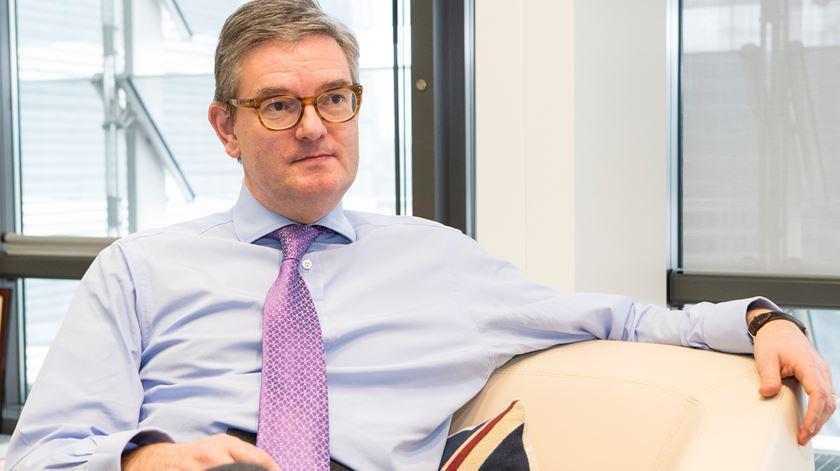 Comissário para a Segurança, Julian King. Foto: Lukasz Kobus/União Europeia 2017