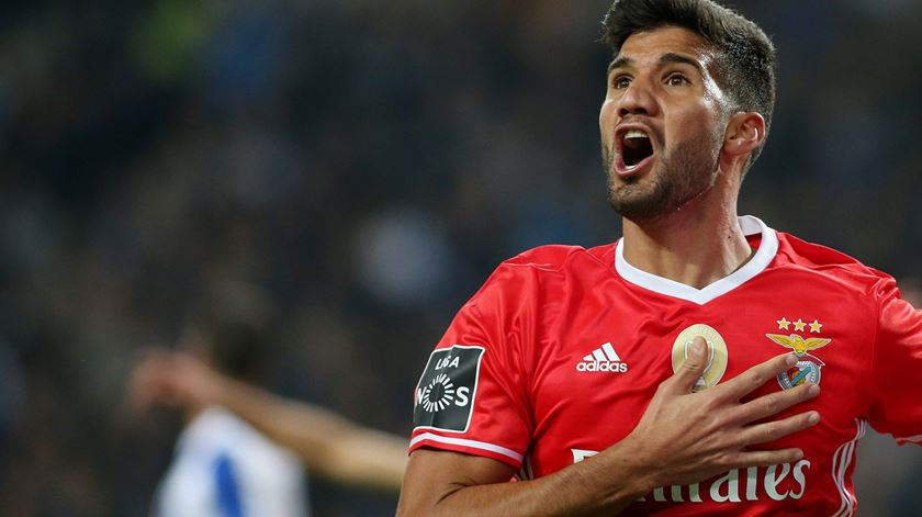 Lisandro López vai para a Ligue 1. Foto: José Coelho/Lusa