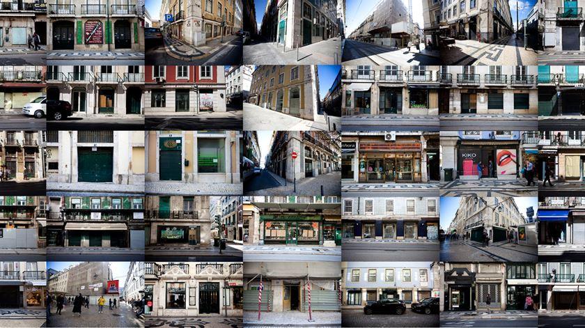 O Mapa Das Lojas Tradicionais Que Lisboa Ja Perdeu Renascenca