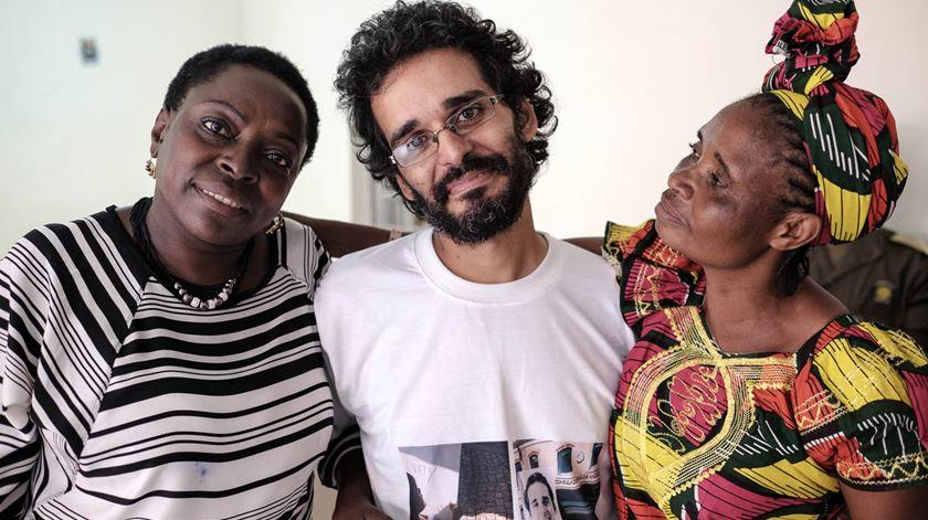 Luso-angolano Luaty Beirão foi condenado a cinco anos e meio de prisão. Foto: Lusa