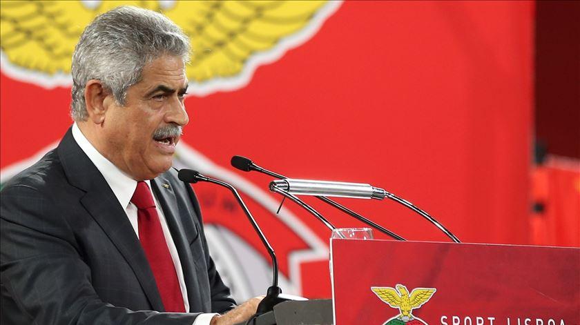 Luís Filipe Vieira, presidente do Benfica. Foto: Manuel de Almeida/Lusa