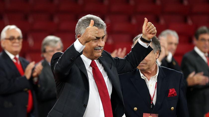 Luís Filipe Vieira, presidente da SAD do Benfica. Foto: Manuel de Almeida/Lusa