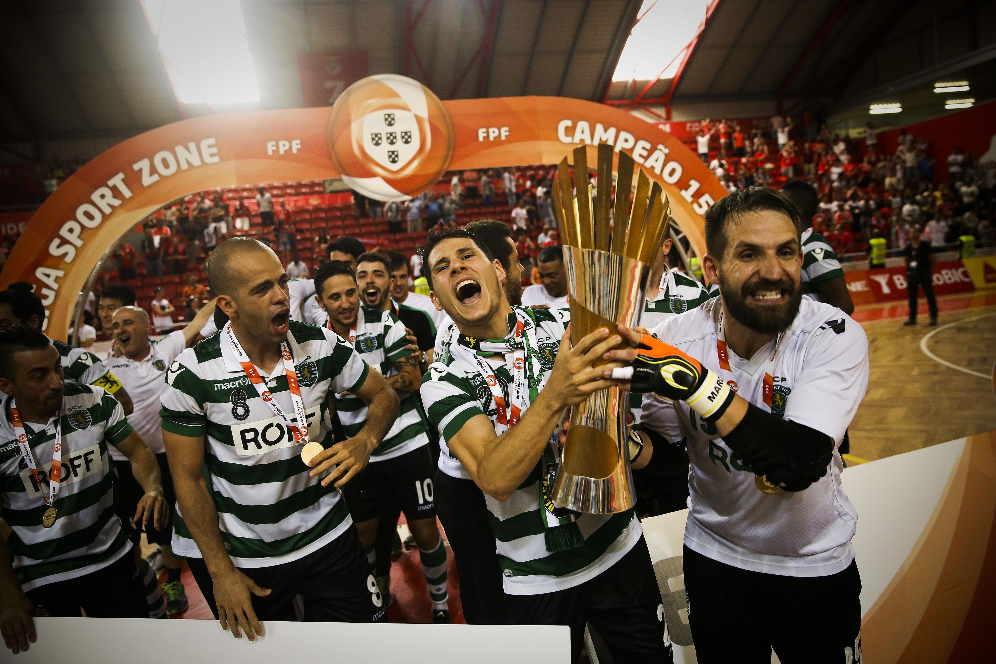 85c3b97514 Sporting conquistou o título no reduto do Benfica. Foto  Mário Cruz Lusa