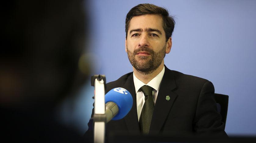 Madeira Rodrigues volta a ser candidato à presidência do Sporting. Foto: Joana Bourgard/RR