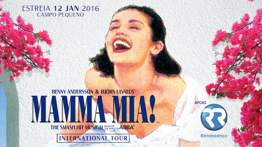 Mamma Mia em cena com a Renascença