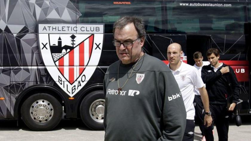 Marcelo Bielsa foi treinador do Atlético Bilbau, entre 2011 e 2013. Foto: DR
