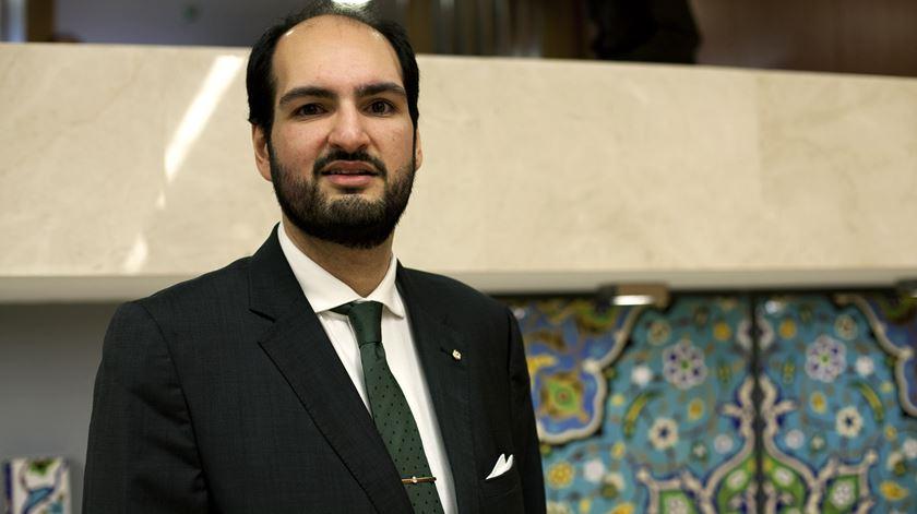 O jovem muçulmano Khalid Jamal sublinha que Marcelo quis mostrar que a religião é uma das prioridades do Presidente