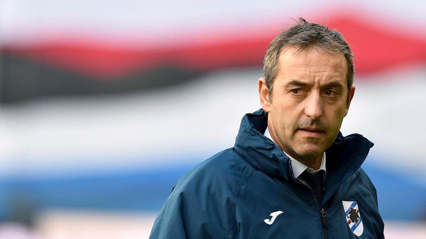 Sampdoria anuncia saída do treinador
