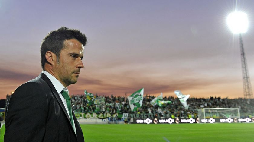 Marco Silva ficou com ligação emocional com os adeptos do Sporting. Foto: DR