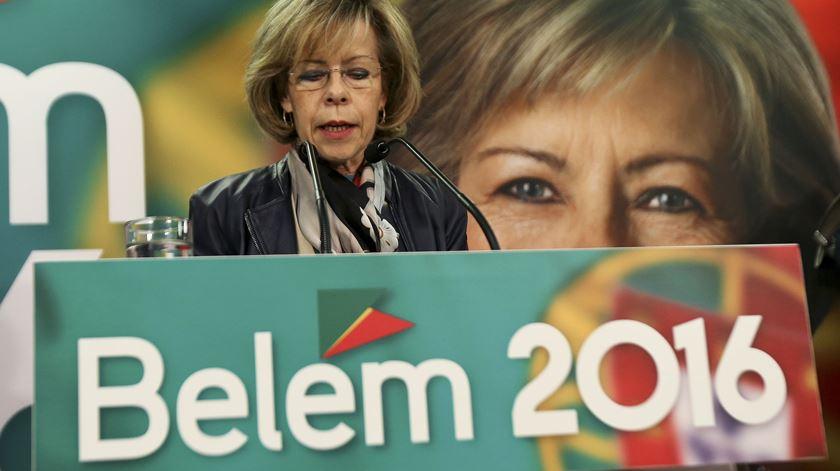 """Dois minutos bastaram. Maria de Belém saudou Marcelo, """"o novo Presidente"""""""